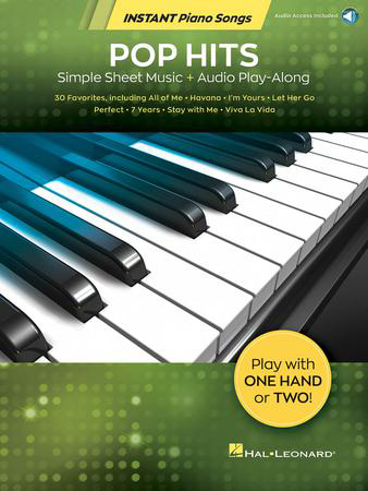 Instant Piano Songs : Pop Hits