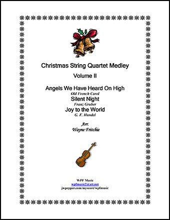 Christmas String Quartet Medley Volume II