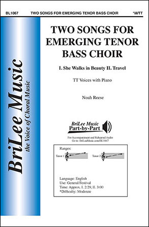 Two Songs for Emerging Tenor-Bass Choir