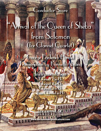 Arrival of the Queen of Sheba Cover