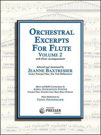 Orchestral Excerpts for Flute, Vol. 2