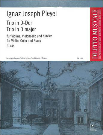 Trio in D Major, B. 445