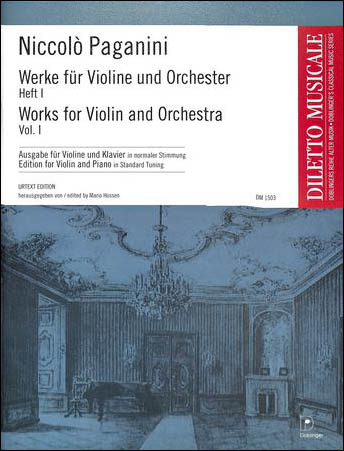 Works for Violin and Orchestra, Vol. 1
