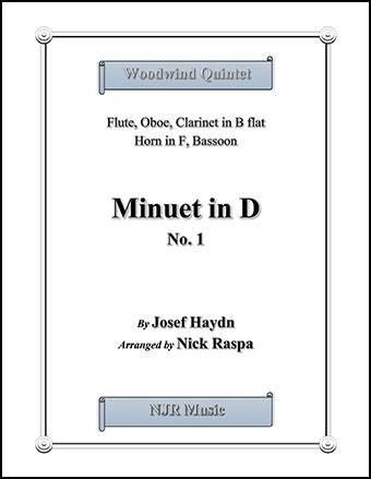 Minuet in D, No. 1