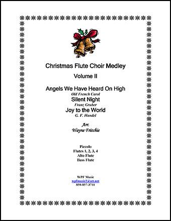 Christmas Flute Choir Medley Volume II