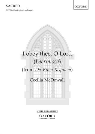 I Obey Thee O Lord