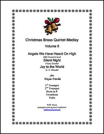Christmas Brass Quintet Medley Volume II