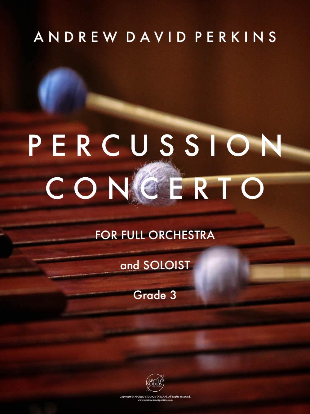 Percussion Concerto for Orchestra