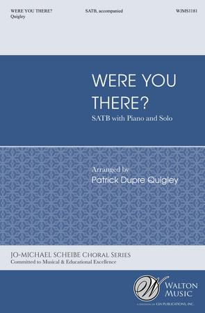 Were You There? church choir sheet music cover