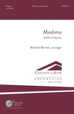 Modimo community sheet music cover