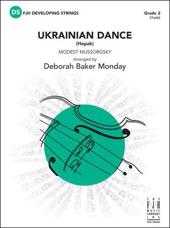 Ukrainian Dance midwest sheet music cover