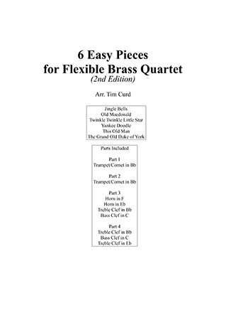 6 Easy Pieces for Flexible Brass Ensemble