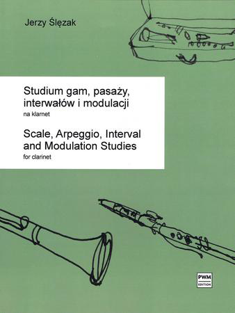 Scale, Arpeggio, Interval and Modulation Studies