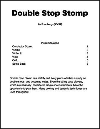 Double Stop Stomp