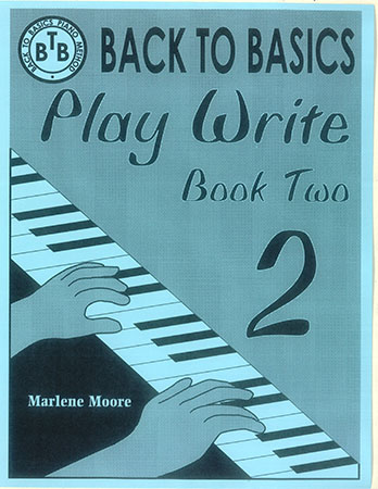 Back To Basics Play Write Book 2