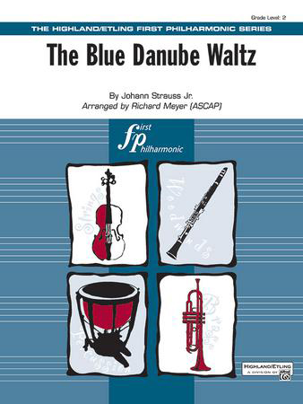 The Blue Danube Waltz midwest sheet music cover