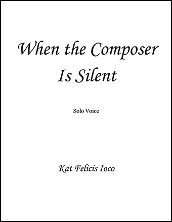 When the Composer Is Silent