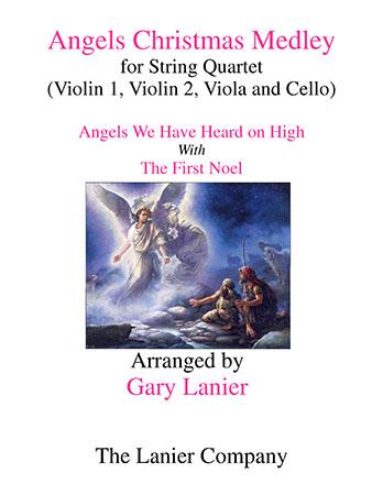 Angels Christmas Medley for String Quartet