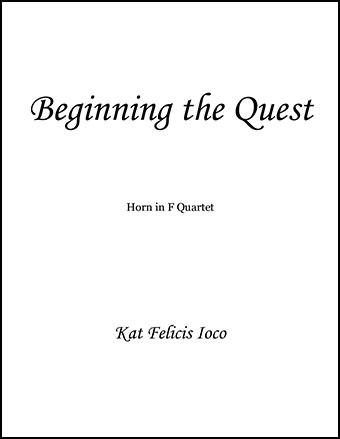 Beginning the Quest