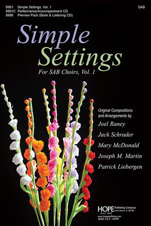 Simple Settings for SAB Choirs (SAB Choral S | J W  Pepper