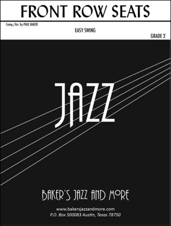 Front Row Seats jazz sheet music cover