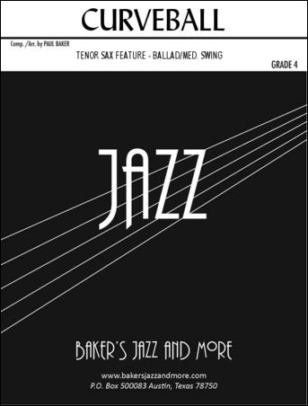Jazz Ensemble with Tenor Sax Solo | Sheet music at JW Pepper