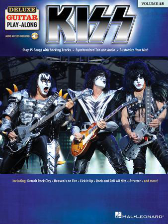 Deluxe Guitar Play-Along, Vol. 18: Kiss