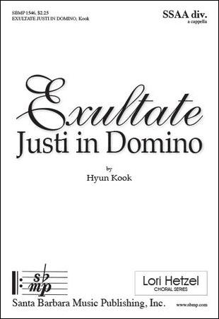 Exultate Justi in Domino