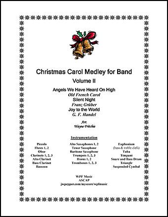 Christmas Carol Medley for Band, Volume II