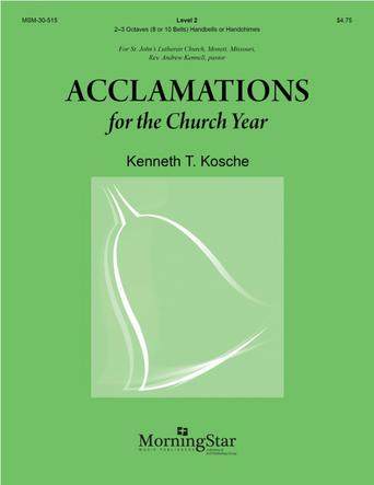 Acclamations for the Church Year