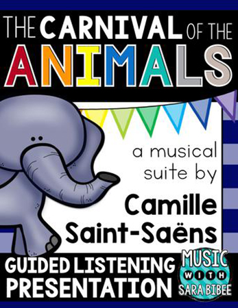 The Carnival of the Animals Guided Listening Presentation