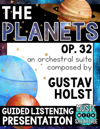 The Planets Guided Listning Presentation