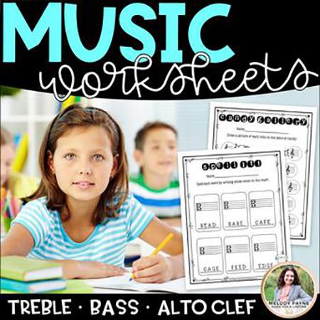 Note Naming Music Worksheets