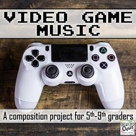 Video Game Music Composition Project Thumbnail