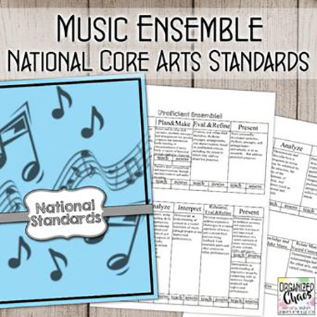 National Core Arts Standards for Music Ensembles: Planning and Assessment Thumbnail