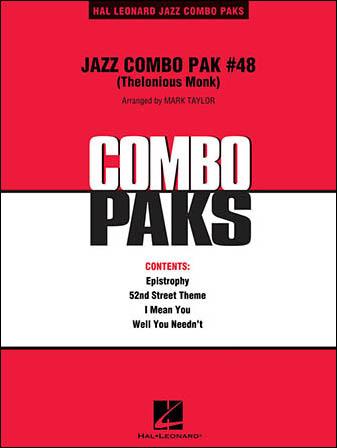 Jazz Combo Pak No. 48 (Thelonious Monk)