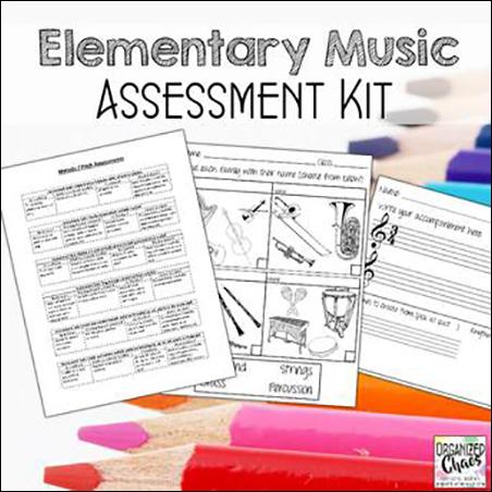 Elementary Music Assessment Kit Thumbnail