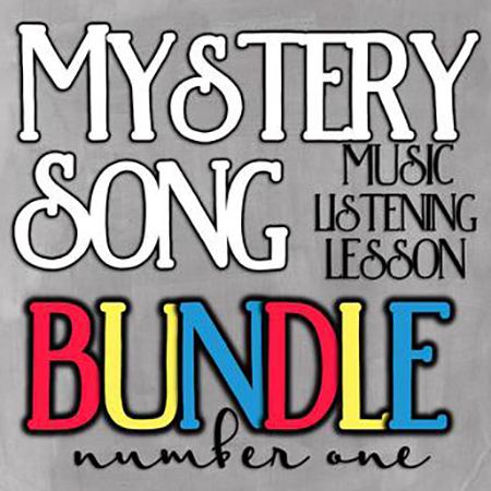 Mystery Song Music Listening Bundle #1