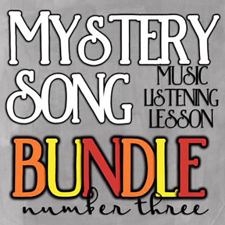 Mystery Song Music Listening Bundle #3