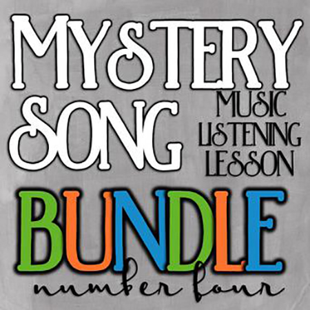 Mystery Song Music Listening Bundle #4