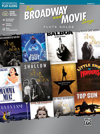 Top Broadway & Movie Songs: Instrumental Solos