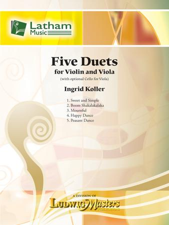 Five Duets for Violin and Viola