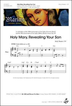 Holy Mary, Revealing Your Son