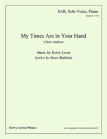 My Times Are in Your Hand