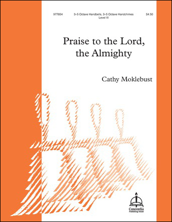 Praise to the Lord, the Almighty handbell sheet music cover