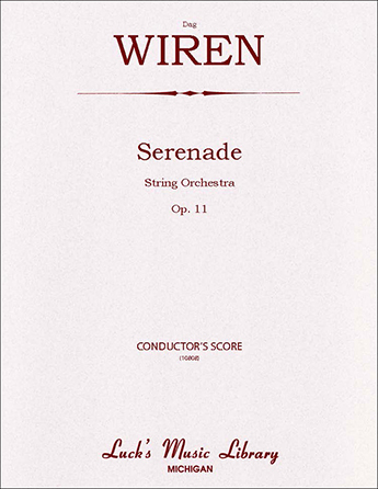Serenade for Strings, Op. 11