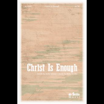 Christ Is Enough Cover