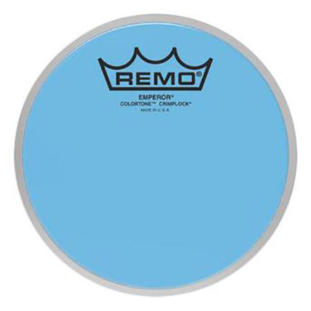 Remo Emperor Colortone Crimplock Blue Tenor Heads
