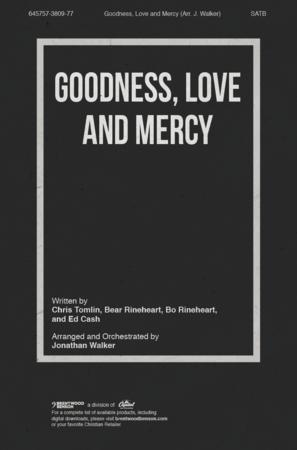 Goodness, Love and Mercy