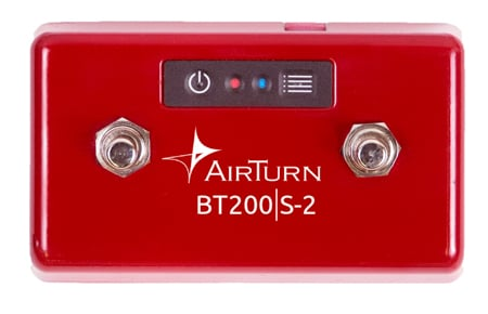 AirTurn BT200S Customizable Wireless Footswitch